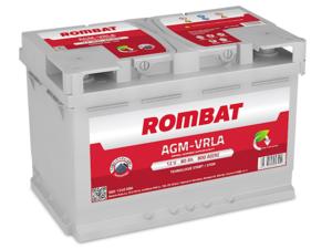 Baterie Auto Rombat Agm 12 V 80 AH 800 A 314x175x190  cod: 5801240080