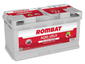 Baterie Auto Rombat Agm 12 V 92 AH 850 A 352x175x190  cod: 5921250085