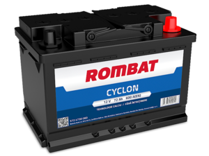 Baterie Auto Rombat Cyclon 12 V 72 AH 600 A 278x175x190  cod: 5724730060