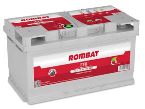 Baterie Auto Rombat Efb 12 V 75 AH 730 A 315x175x175  cod: 57511A0073
