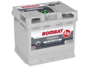 Baterie Auto Rombat Premier 12 V 55 AH 540 A 207x175x190  cod: 5552310054