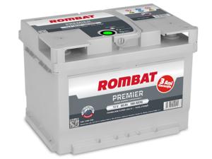Baterie Auto Rombat Premier 12 V 60 AH 580 A 242x175x175  cod: 5602380058