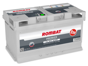 Baterie Auto Rombat Premier 12 V 80 AH 760 A 315x175x175  cod: 58023A0076