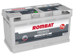 Baterie Auto Rombat Premier 12 V 95 AH 900 A 353x175x190  cod: 5952350090