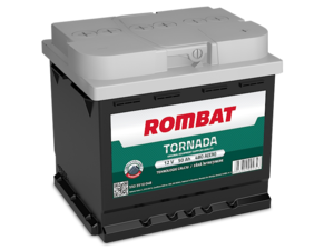 Baterie Auto Rombat Tornada 12 V 50 AH 480 A 207x175x190  cod: 5503510048
