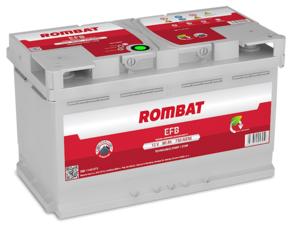 Baterie Auto Rombat Efb 12 V 80 AH 730 A 315x175x190  cod: 5801140073