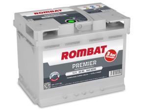 Baterie Auto Rombat Premier 12 V 65 AH 640 A 242x175x190  cod: 5652320064