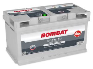 Baterie Auto Rombat Premier 12 V 85 AH 810 A 315x175x190  cod: 5852340081