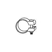 Conector teava, sistem de esapament