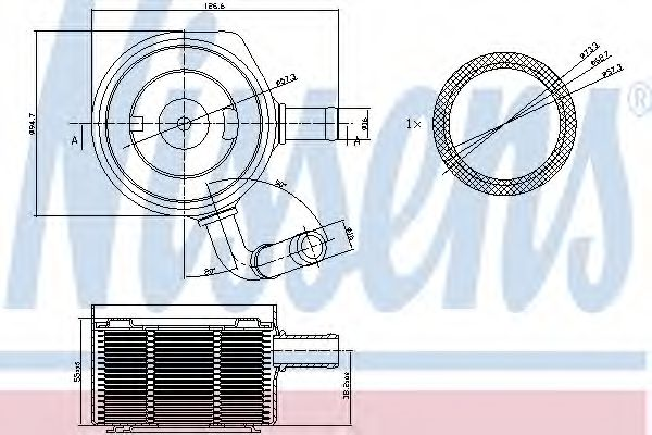 Radiator ulei, ulei motor