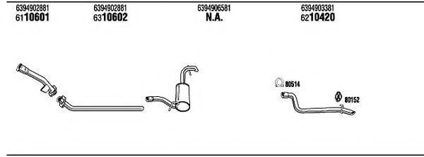 Sistem de esapament