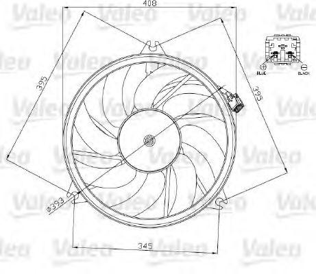 Ventilator, radiator