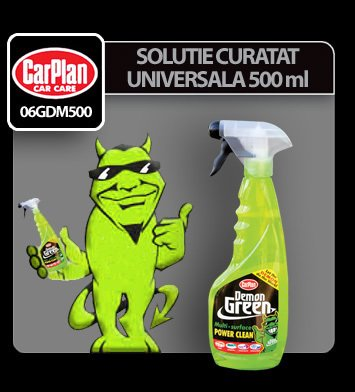Solutie curatat universala Demon Green 500 ml