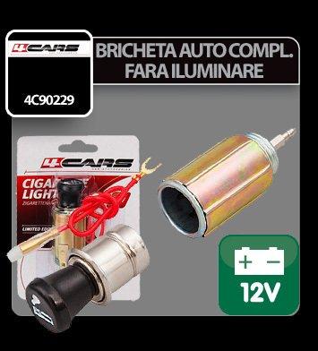 Bricheta auto completa fara iluminare 4Cars - 12V