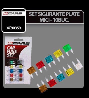 Set sigurante plate mici 10 buc - 4Cars
