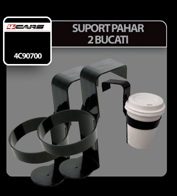 Suport pahar 4Cars 2 buc