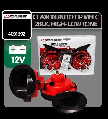 Claxon auto tip melc 4Cars 2 buc 12V