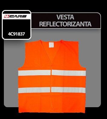 Vesta reflectorizanta 4Cars - Portocaliu