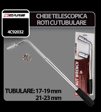 Cheie telescopica pentru roti cu tubulare 17-19 si 21-23 mm 4Cars