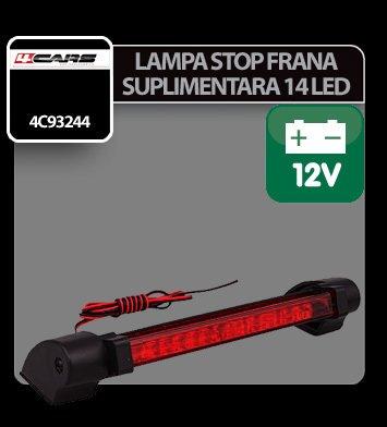 Lampa stop frana suplimentara cu 14 LED 12V 4Cars
