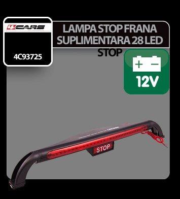 Lampa stop frana suplimentara cu 28 LED - STOP - 12V 4Cars