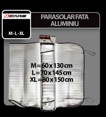 Parasolar fata 4Cars - 80x150 cm - XL