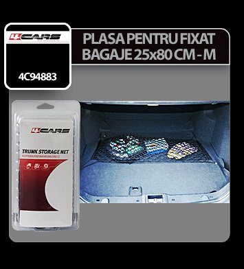 Plasa pentru fixat bagaje 25x80 cm - M - 4Cars