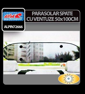 Parasolar spate cu ventuze 50 x 100 cm