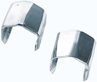 Cleme ornament capat tubulatura motor 2buc - Crom