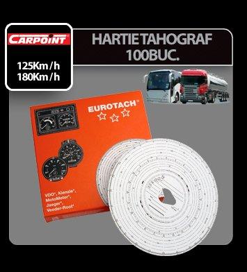 Diagrame hartie tahograf Eurotach 100buc - 125km/h