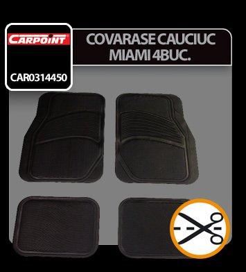 Covorase cauciuc universale Miami 4buc