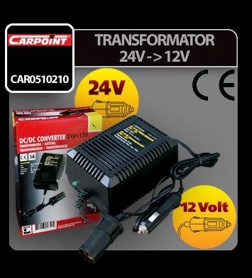 Transformator curent de la 24V la 12V Carpoint
