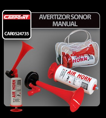 Avertizor sonor manual