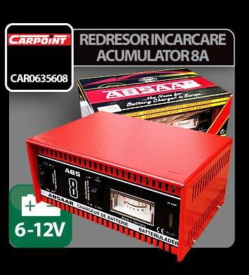 Redresor incarcare acumulator Absaar 6,5/8A - 6/12V