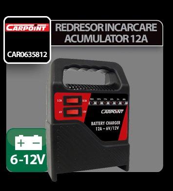 Redresor incarcare acumulator Carpoint 2/12A - 6/12V