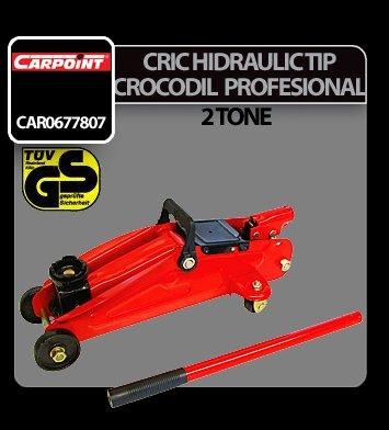 Cric hidraulic tip crocodil profesional 2 tone Carpoint