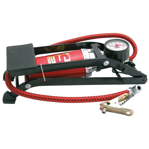 Pompa aer de picior cu un cilindru Carpoint