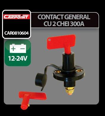 Contact general cu 2 chei 300A - 12/24V