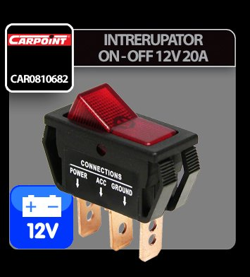 Intrerupator On-Off 12V 20A