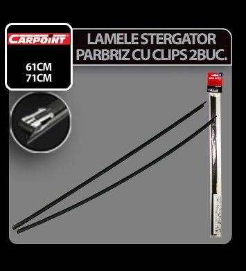 Lamele sterg parb cu clips Carpoint - 71 cm - 8,5 mm - 2 buc