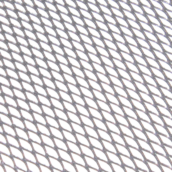 Plasa grila spoiler Carpoint Argintiu - Medium 6x12mm - 90X30cm
