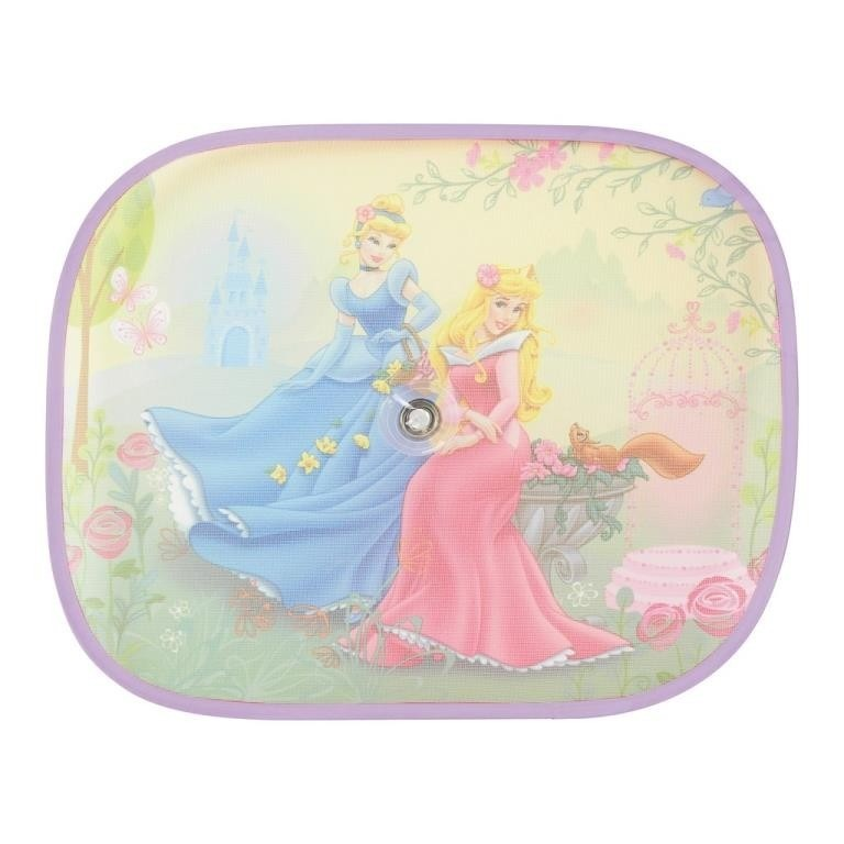 Parasolare laterale cu ventuze Disney 2buc - Pricess Cinderella 1