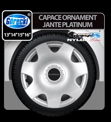 Capace ornament jante Platinium nylon line 4buc - 13''