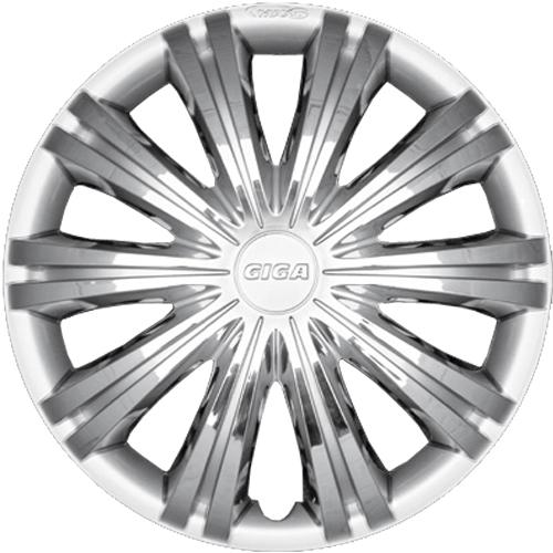Capace roti auto Giga chrome silver 4buc - 13'