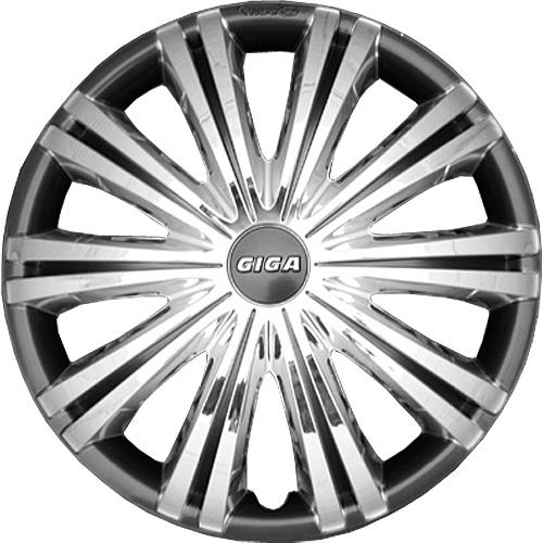 Capace roti auto Giga chrome dark 4buc - 14'