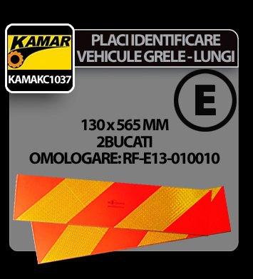 Placi identificare vehicule grele-lungi (dungi) 2buc Kamar