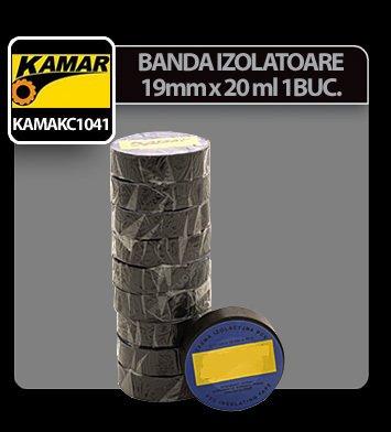 Banda izolatoare 19mmx20ml Kamar 1buc - Negru