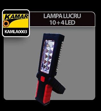 Lampa de lucru cu 10+4 SMD-uri si magnet Kamar