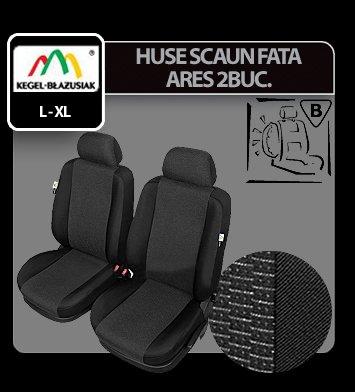 Huse scaun fata Ares 2buc Extra Super Airbag - Marimea XL