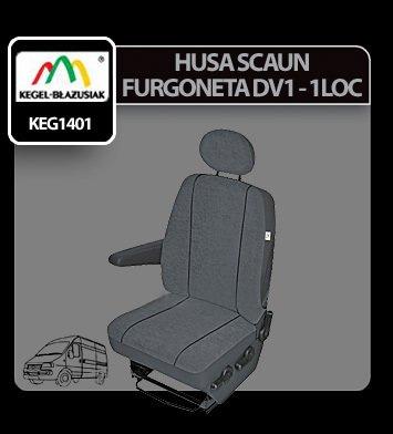 Husa scaun furgoneta de transport Elegance DV1-M 1Loc